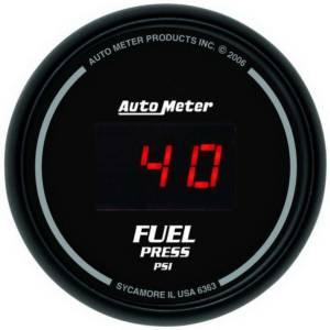 AUTO METER #6363 2-1/16in DG/B Fuel Pressure Gauge