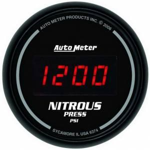 AUTO METER #6374 2-1/16in DG/B Nitrous Pressure Gauge