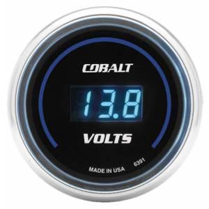 AUTO METER #6391 2-1/16in C/S Digital Voltmeter Gauge 8-19 Vol