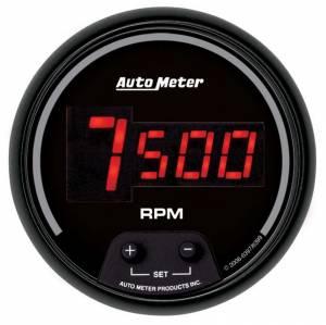 AUTO METER #6397 3-3/8in DG/B In-Dash Tachometer