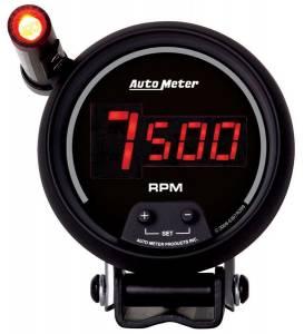 AUTO METER #6399 3-3/4in DG/B In-Dash Tachometer