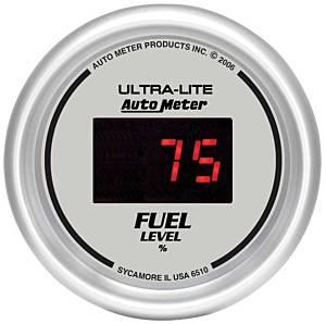 AUTO METER #6510 2-1/16in DG/S Fuel Level Gauge