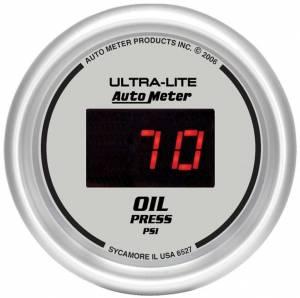AUTO METER #6527 2-1/16in DG/S Oil Press. Gauge