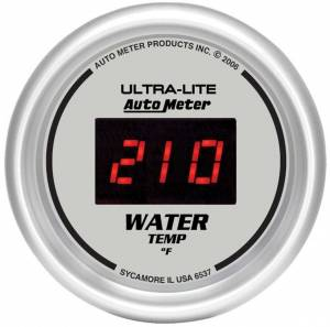 AUTO METER #6537 2-1/16in DG/S Water Temp Gauge
