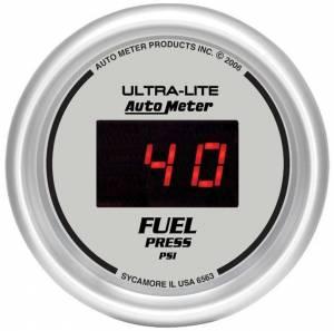 AUTO METER #6563 2-1/16in DG/S Fuel Pressure Gauge