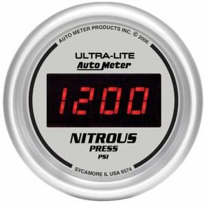 AUTO METER #6574 2-1/16in DG/S Nitrous Pressure Gauge