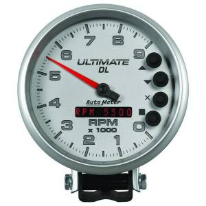 AUTO METER #6894 5in Ultimate DL Tach 9000 RPM Silver