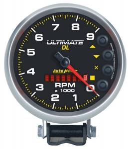 AUTO METER #6896 5in Ultimate DL Tach 9000 RPM Black