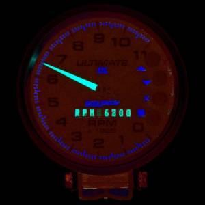 AUTO METER #6897 5in Ultimate DL Tach 11000 RPM Black