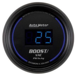 AUTO METER #6959 2-1/16 Cobalt Boost/Vac Gauge