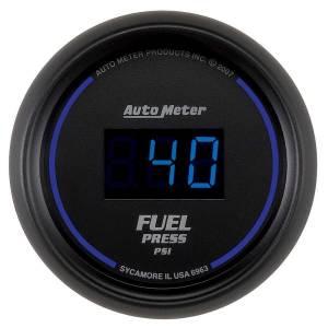 AUTO METER #6963 2-1/16 Cobalt Fuel Press Gauge - 100psi