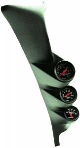 AUTO METER #7072 2-1/16in Z-Series Triple Gauge A-Pillar Kit