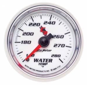 AUTO METER #7131 2-1/16in C2/S Water Temp Gauge 140-280