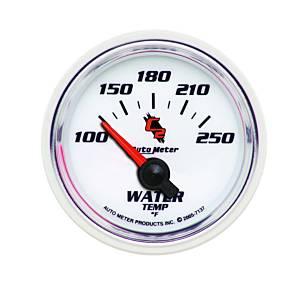 AUTO METER #7137 2-1/16in C2/S Water Temp Gauge 100-250