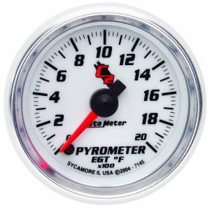 AUTO METER #7145 2-1/16in C2/S 2000 Degree Pyrometer