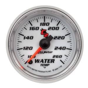 AUTO METER #7155 2-1/16in C2/S Water Temp. Gauge 100-260