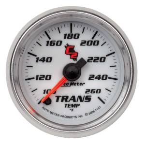 AUTO METER #7157 2-1/16in C2/S Trans Temp. Gauge 100-260