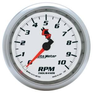 AUTO METER #7297 3-3/8in C2/S Tach - 10000 RPM