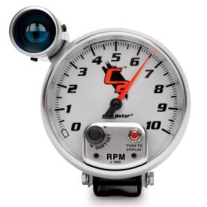 AUTO METER #7299 5in C2/S 10000RPM Tach w/Shift-Lite