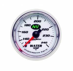 AUTO METER #7332 2-1/16in NV/S Water Temp Gauge 120-240