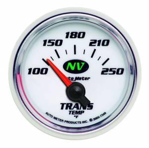 AUTO METER #7349 2-1/16in NV/S Trans Temp Gauge 100-250