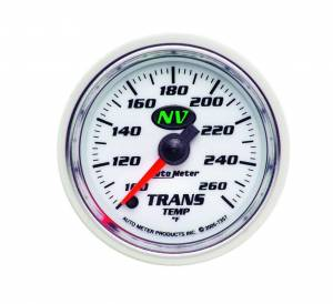 AUTO METER #7357 2-1/16in NV/S Trans. Tem Gauge 100-260