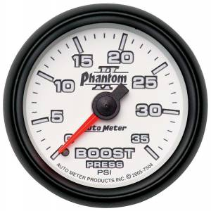 AUTO METER #7504 2-1/16in P/S II Boost Gauge 0-35psi