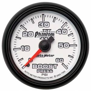 AUTO METER #7505 2-1/16in P/S II Boost Gauge 0-60psi