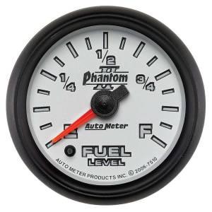AUTO METER #7510 2-1/16in P2/S Fuel Level Gauge