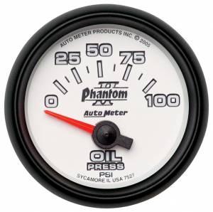 AUTO METER #7527 2-1/16in P/S II Oil Pressure Gauge 0-100psi
