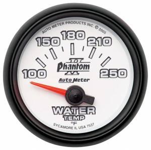 AUTO METER #7537 2-1/16in P/S II Water Temp. Gauge 100-250