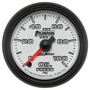 AUTO METER #7553 2-1/16in P/S II Oil Pressure Gauge 0-100psi