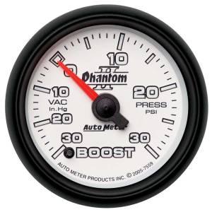 AUTO METER #7559 2-1/16in P/S II Boost/Vac Gauge 30/30 * Special Deal Call 1-800-603-4359 For Best Price