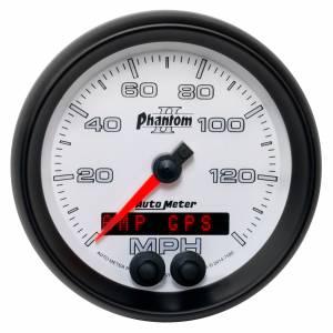 AUTO METER #7580 3-3/8 Phantom II GPS Speedometer