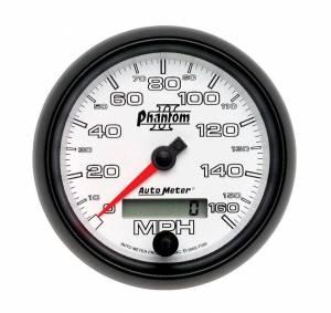 AUTO METER #7588 3-3/8in P/S II Speedo - Programmable