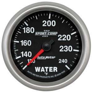 AUTO METER #7632 2-5/8 SC II Water Temp Gauge 120-240 Degrees