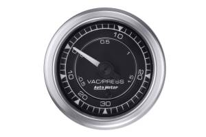 AUTO METER #8159 Vac/Boost Gauge 2 1/16 Chrono Series