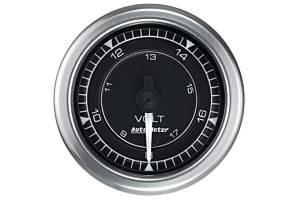 AUTO METER #8191 Voltmeter Gauge 2 1/16 Chrono Series