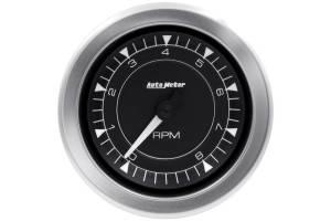 AUTO METER #8197 Tachometer 3-3/8 8 to 8K RPM Chrono Series