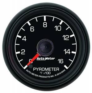 AUTO METER #8444 2-1/16 Pyrometer/EGT Kit - 0-1600