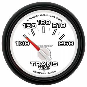 AUTO METER #8549 2-1/16 Trans Temp Gauge Dodge Factory Match