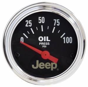 AUTO METER #880240 2-1/16 Oil Pressure Gauge - Jeep Series