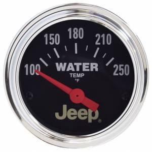 AUTO METER #880241 2-1/16 Water Temp Gauge - Jeep Series