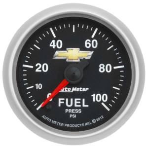 AUTO METER #880449 2-1/16 Fuel Pressure Gauge GM COPO Camaro