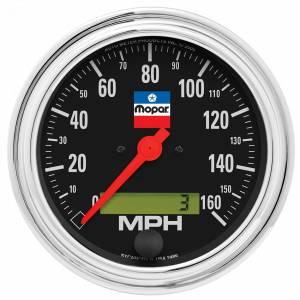 AUTO METER #880790 3-3/8 Speedometer Gauge Mopar Logo Series