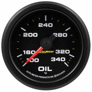 AUTO METER #9240 2-1/16 Gauge Oil Temp 0-340F