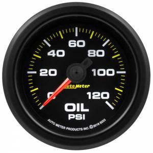 AUTO METER #9253 2-1/16 Gauge Oil Press. 0-120psi