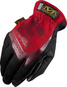 MECHANIX WEAR #MFF-02-010 Fast Fit Gloves Red Lrg