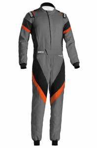 SPARCO #001135H54GNAR Suit Victory Gray/Orange Medium / Large