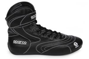 SPARCO #00127345NR Shoe SFI-20 Black 11 - 11.5 Euro 45 2019